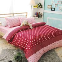 ~IYA艾雅~童話樂曲 粉紅精梳棉單人二件式枕套 ^#43 床包組