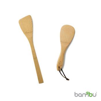 【Bambu】竹製飯匙 - 鍋鏟組(2件組)