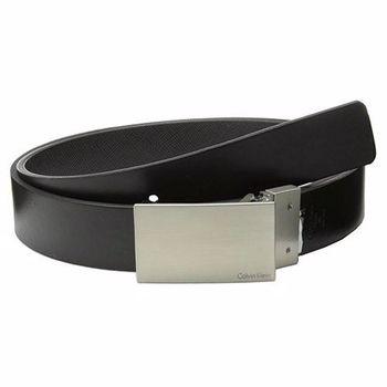 【CK】2014男時尚經典牌匾黑色兩用皮帶