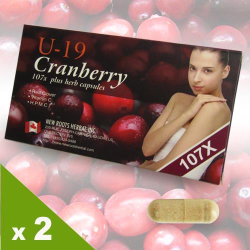 【Natural D】U-19蔓越莓107 *2入