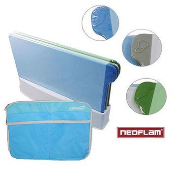 韓國NEOFLAM 繽紛抗菌防滑砧板+ipad/平板電腦雙面收納包