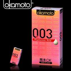 岡東森購物購物專家本003-HA 玻尿酸極薄保險套(6入裝)