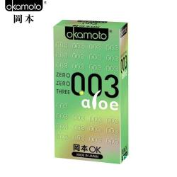 岡本003-ALOE 超潤蘆薈極薄保險套(6入裝東森etmall)