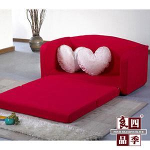 【LooCa】浪漫傾心雙人沙發床(共三色)