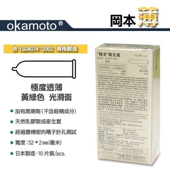 岡本okamoto City Super Thin透薄型保險套