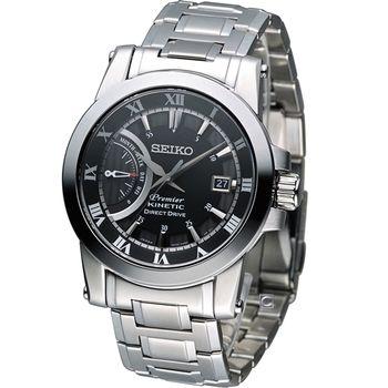 SEIKO 人動電能都會科技時尚腕錶5D22-0AD0D