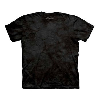 【摩達客】預購-The Mountain 黑色環保藝術波紋底T恤