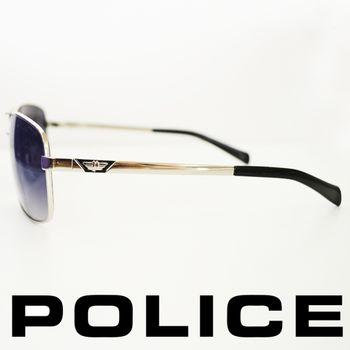 POLICE 型男眼鏡-金屬框(黑色) POS8879-579P