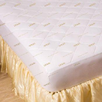 【義大利La Belle】經典純色防蹣抗菌單人包覆式保潔墊