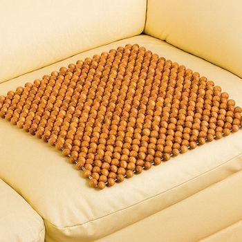 【格蘭】檜木珠沙發座墊55x55cm-6入