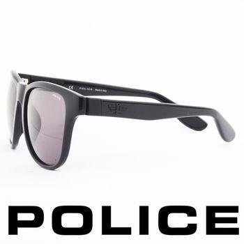 POLICE 個性型男眼鏡-膠框(黑色)  POS1823-0Z4