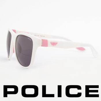 POLICE 型男眼鏡-膠框(粉紅色) POS1823-04AO