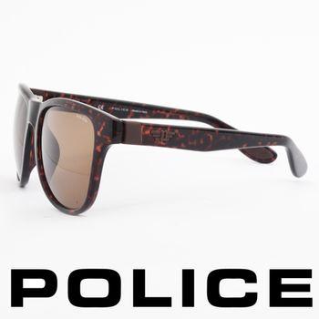 POLICE 個性型男眼鏡-膠框(豹紋) POS1823-0978