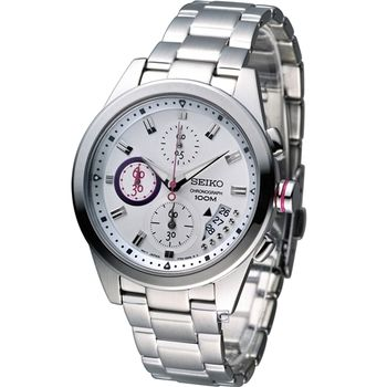 SEIKO Criteria艾莉絲奇遇計時腕錶7T92-0RV0S
