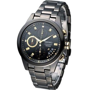 SEIKO Criteria艾莉絲奇遇計時腕錶7T92-0RV0K