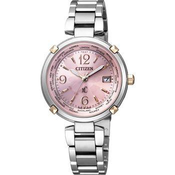 CITIZENxC 馨悦之旅【鈦】電波時尚腕錶EC1044-55W