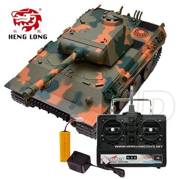 【Heng Long 恆龍】1:16 無線電德國豹式遙控冒煙坦克