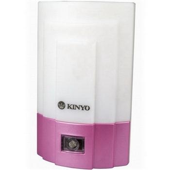 KINYO 光控LED小夜燈-白光(NL-15)2入