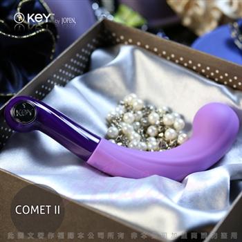 美國KEY Comet II 卡米2代 7頻磁吸式充電G點魔杖-紫