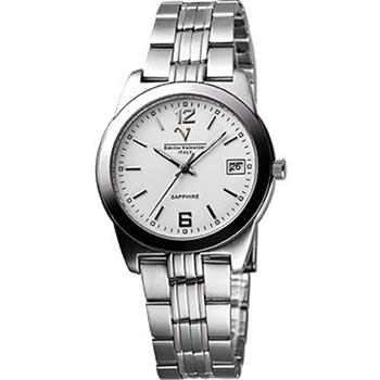 Valentino 輝煌年代經典腕錶-白(REF5107M白)