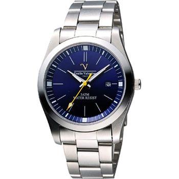 Valentino 輝煌年代經典腕錶-寶藍sm6405s藍