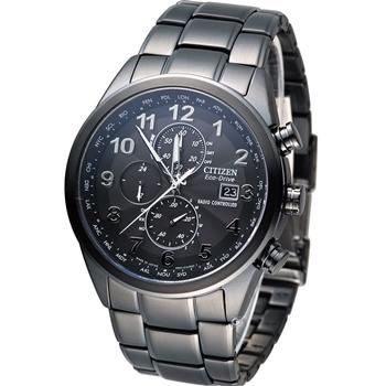 CITIZEN GENT'S 時刻主宰電波腕錶AT8105-53E