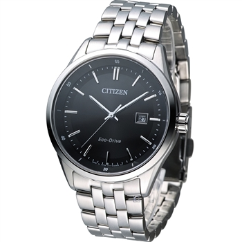 CITIZEN 素面百搭時尚紳士錶BM7250-56E
