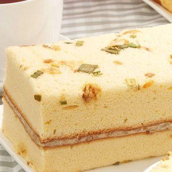 【里昂】招牌香蔥鹹蛋糕8盒組(325g/盒)