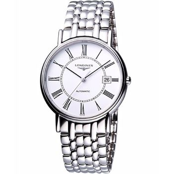 LONGINES Presence羅馬機械腕錶L49214116