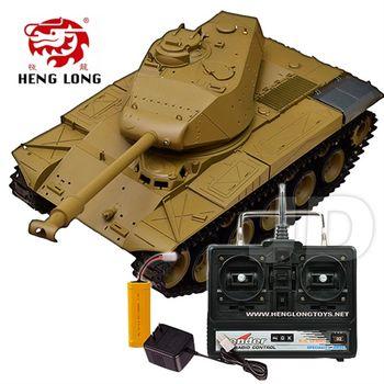 【恆龍】1:16 無線電美國華克猛犬遙控冒煙坦克