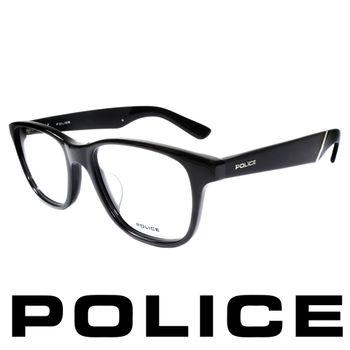 POLICE 個性型男眼鏡-膠框(黑) POV1792-0700