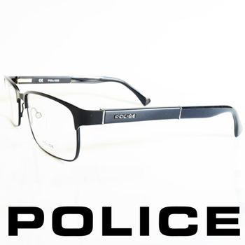 POLICE 眼鏡-金屬框(霧黑框) POV8797-531X