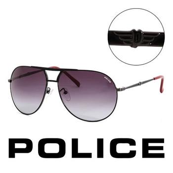 Police 經典造型太陽眼鏡(黑) POS87590K59