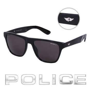 POLICE 時尚太陽眼鏡 (消光黑) POS1796-700Z