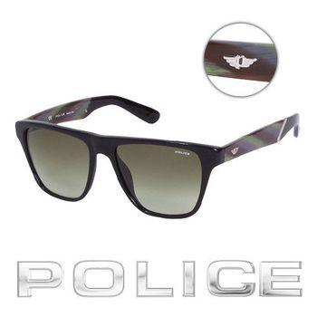 POLICE 時尚太陽眼鏡 (孔雀綠) POS1796-700V