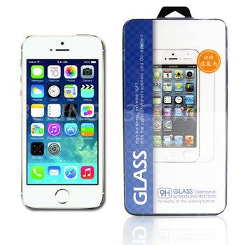 資詠 Apple iPhone 5/5S/5C 濾藍光玻璃保護貼