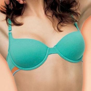 【西班牙UNNO】(6620T)女性運動型T-shirt青藍色胸罩