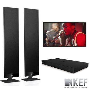 KEF 英國 V300 數位電視音響系統 (不含液晶電視)