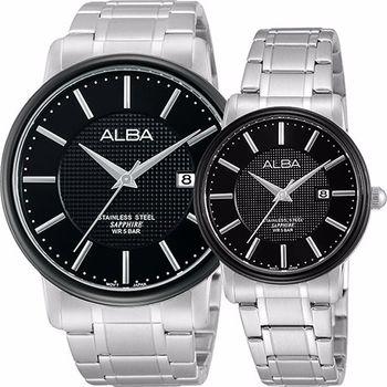 ALBA爵士對錶VJ42-X114D+VJ22-X157D