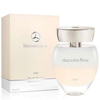 Mercedes Benz  賓士白色浪漫女性淡香水(90ml)