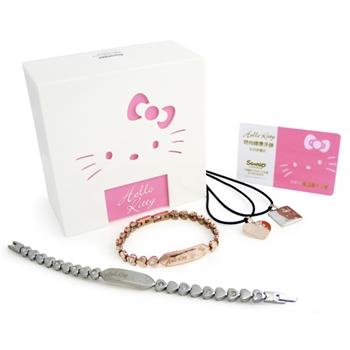Hello Kitty時尚心鑚健康手鍊組
