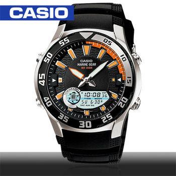 CASIO 卡西歐_月相潮汐雙顯錶_AMW-710
