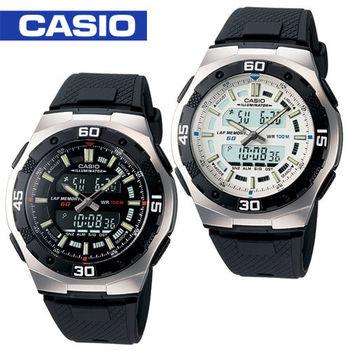 CASIO 卡西歐_日系雙顯型運動錶_AQ-164W
