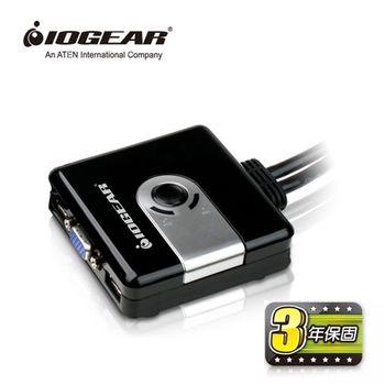 IOGEAR 2埠 USB KVM多電腦切換器(GCS42UW6)
