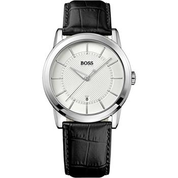 Hugo Boss 紳士家德式復刻腕錶-銀H1512625