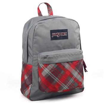 JanSport校園背包(SUPER BREAK)-蘇格蘭紋