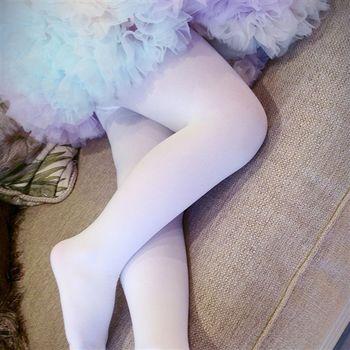 【華貴絲襪】超細棉絨兒童韻律美體襪-白色(2雙入)
