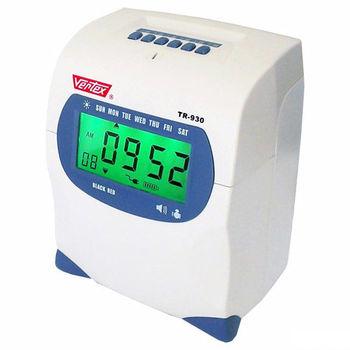 【VERTEX世尚】六欄位雙色微電腦打卡鐘TR-930