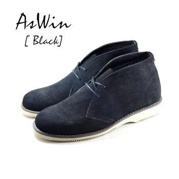 【DOGYBALL】嚴選AsWin 沙漠靴鞋款 黑色
