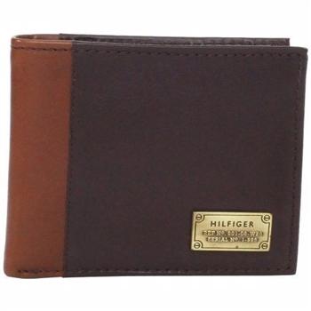 Tommy Hilfiger 2014男麥爾登雙折深棕色皮夾